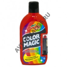 TURTLE WAX Полироль COLOR MAGIC светло-красная+карандаш 500гр (6495) 7008
